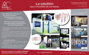 Acto&co - Stands Modulables T3