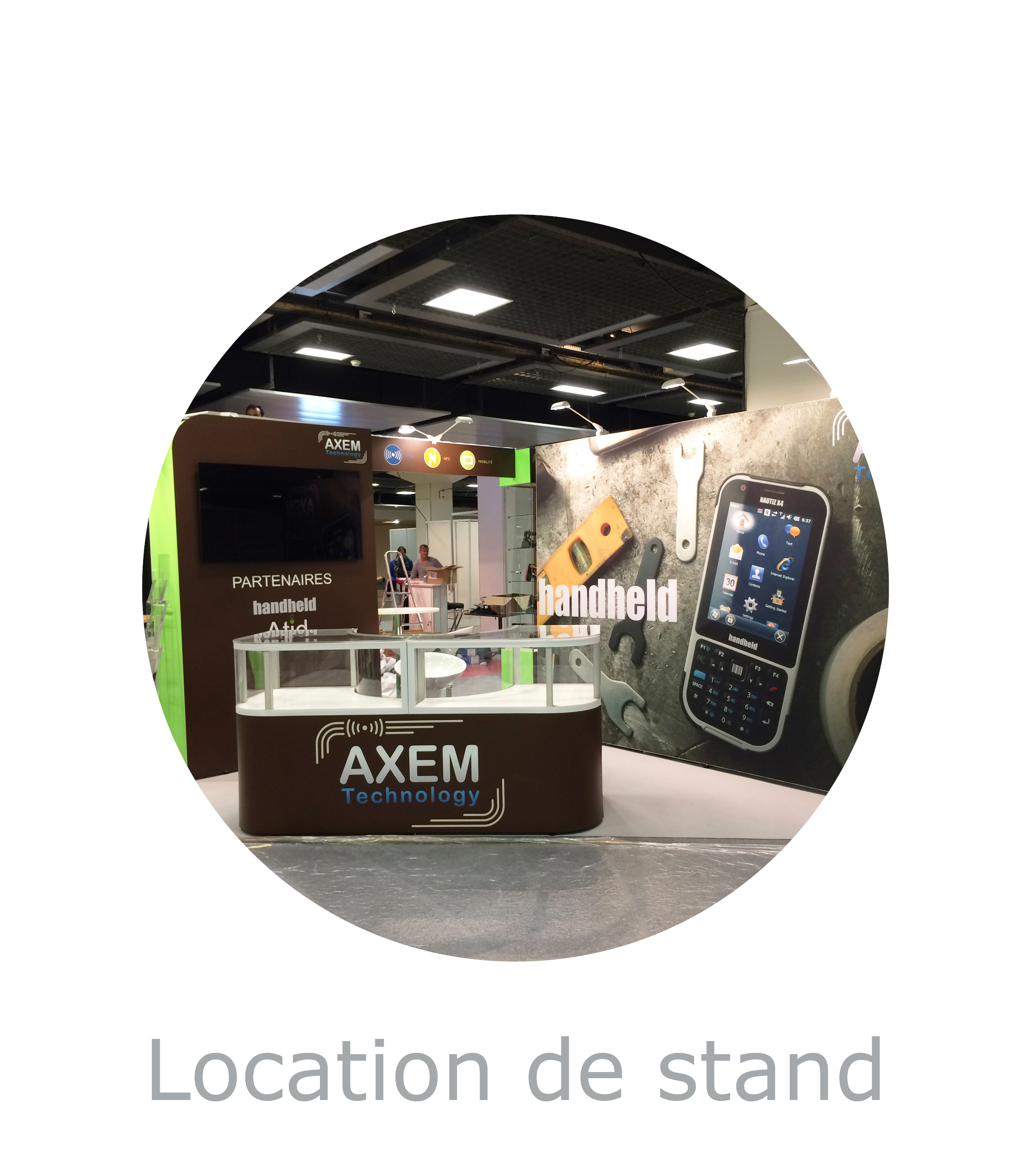 Stand modulaires stands modulables stand acto co for Location stand exposition