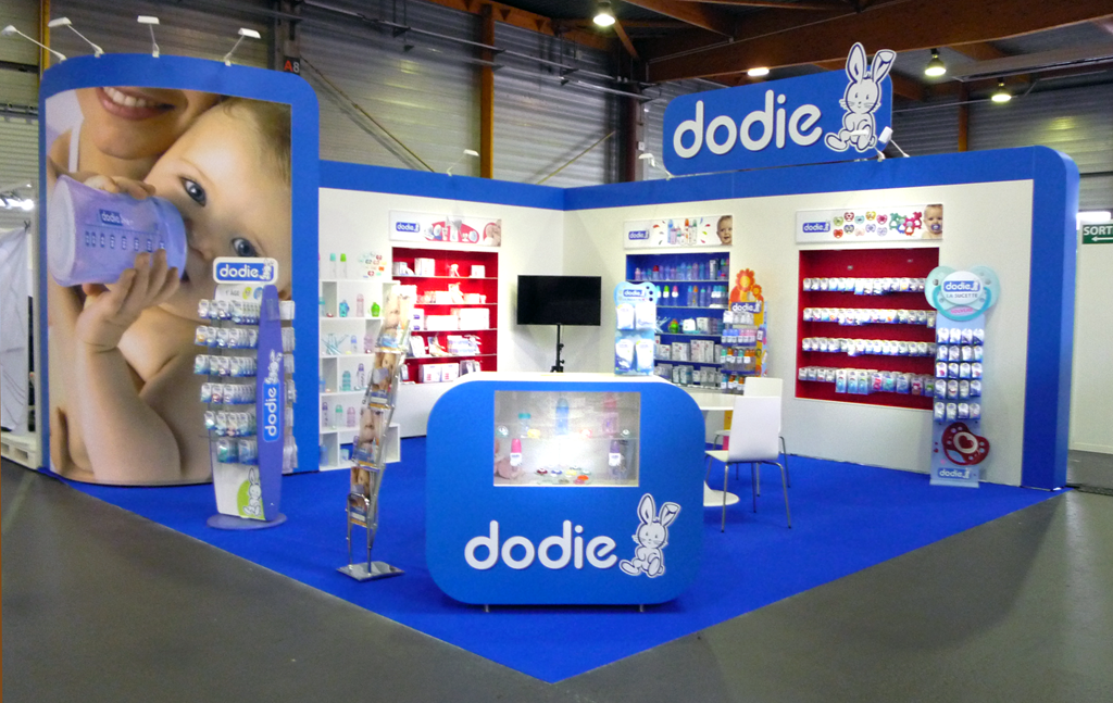 Stand Dodie salon Passion Bébé, sept 2014 - vue ensemble
