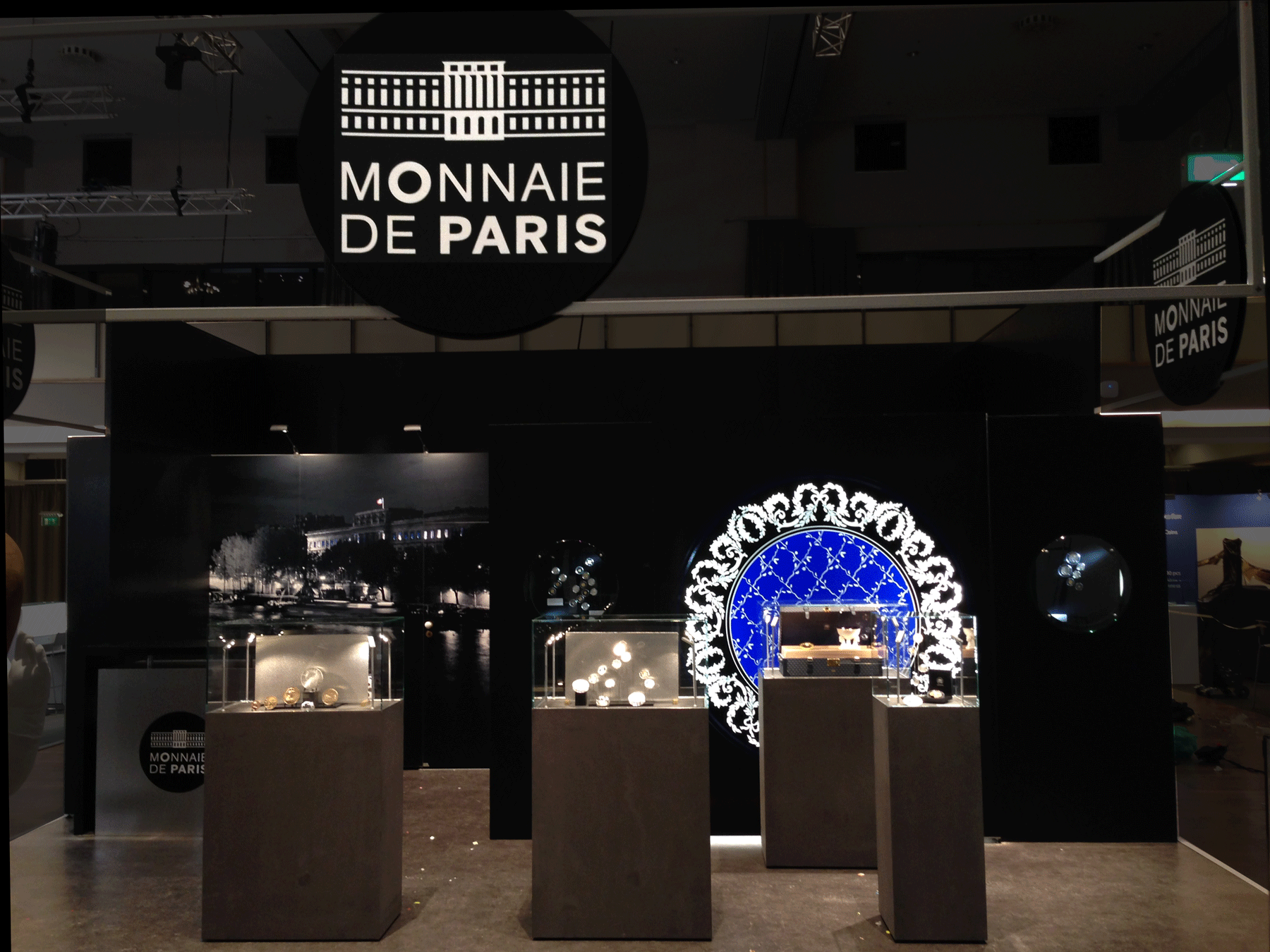 Stand Modulaire Monnaie de Paris 2015