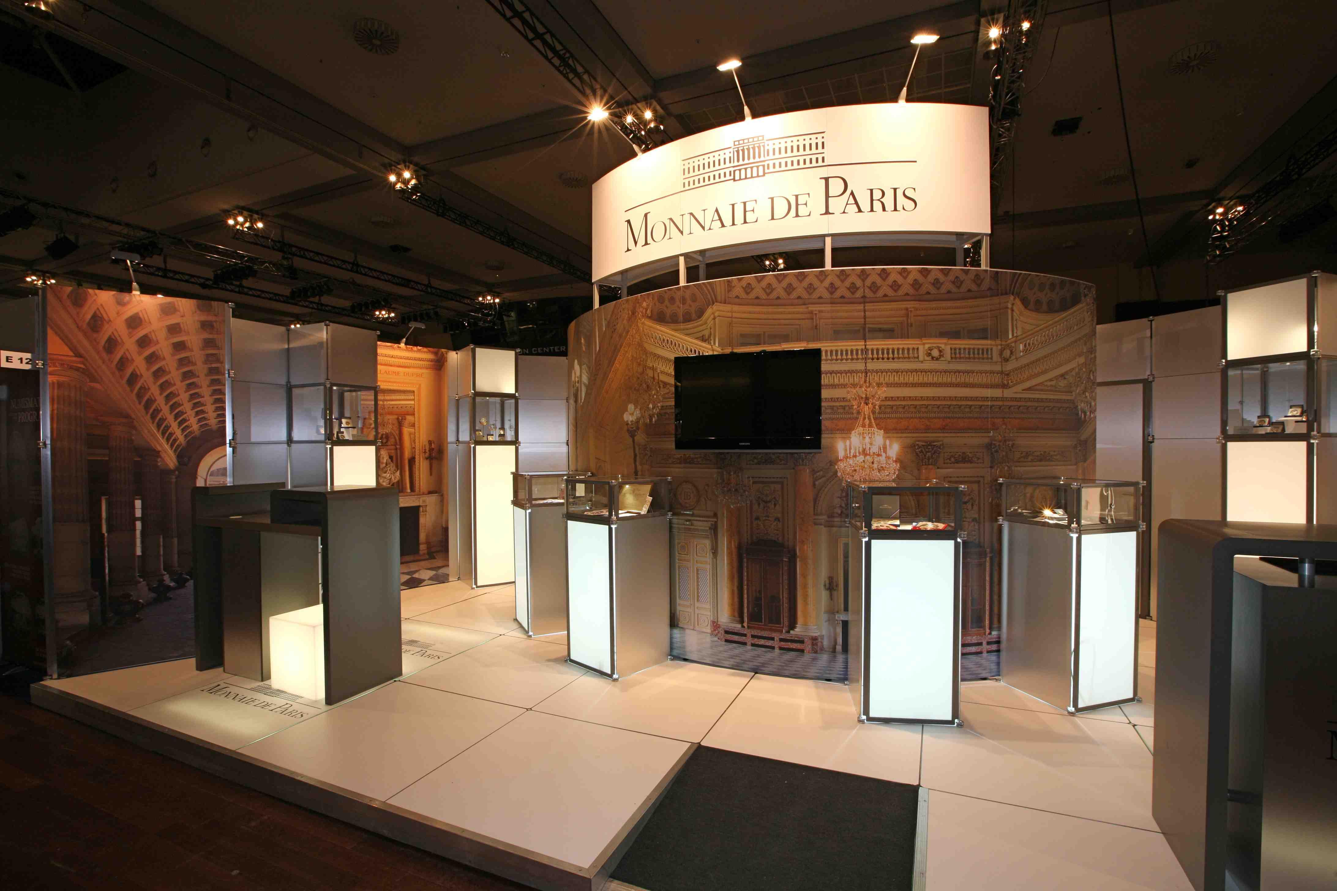 Stand modulaire Monnaie de Paris 2010 (2)