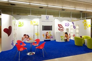 Stand modulable Unilever