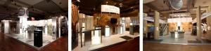 stand d'exposition modulable en gestion complète Monnaie de Paris