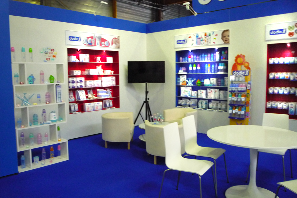 Stand Dodie salon Passion Bébé