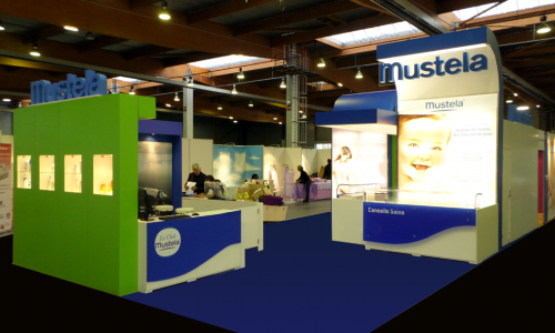 Stand Mustela Baby sept 2014