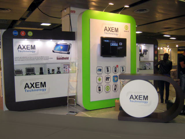 stand système modulaire Axem