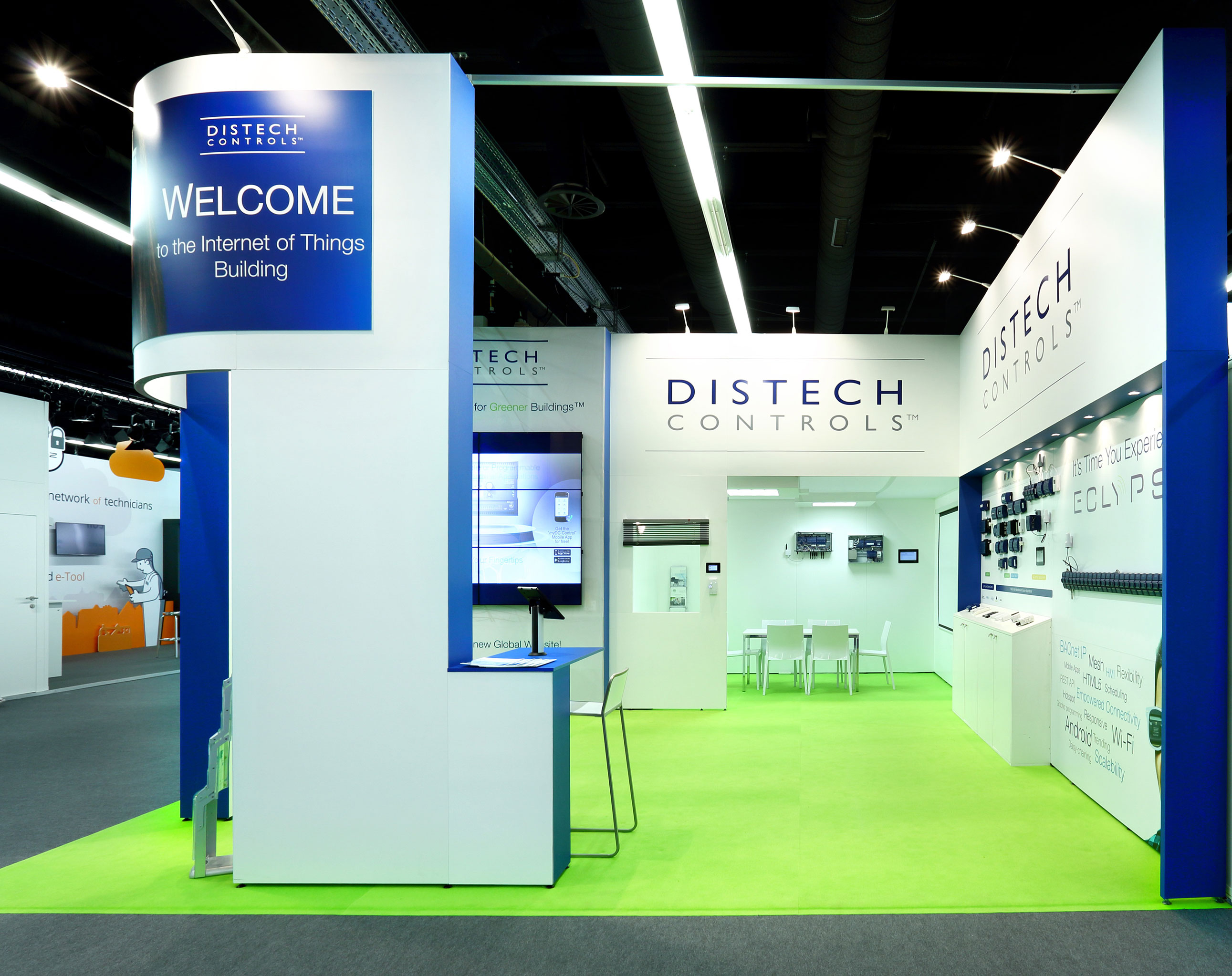 Stand modulaire Distech - Salon ISH 2014