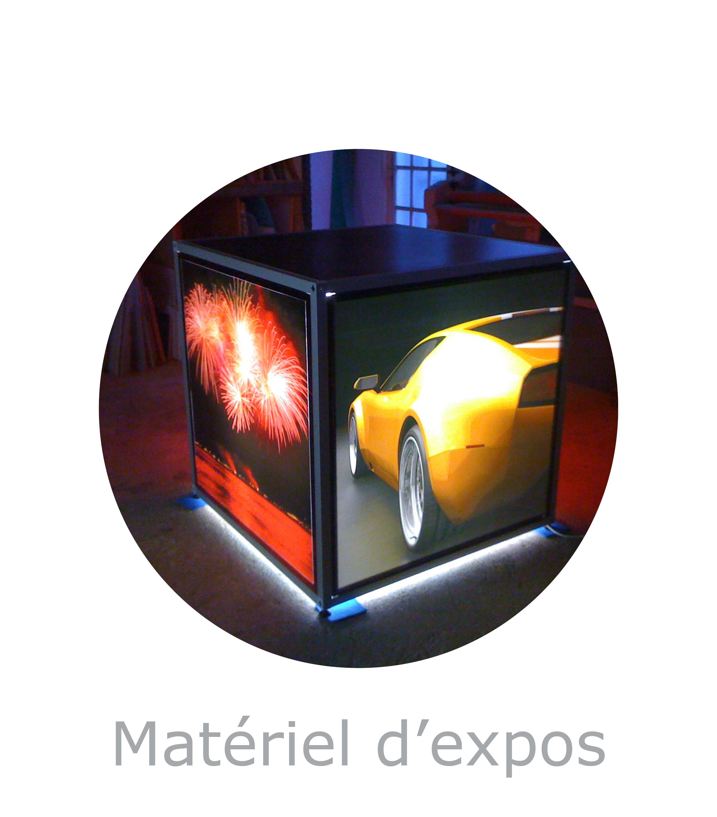 Solutions et materiel d exposition plv et visuels