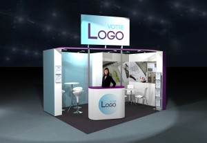 stand cle en main 12m²