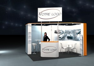 Stand clef en main 12m²